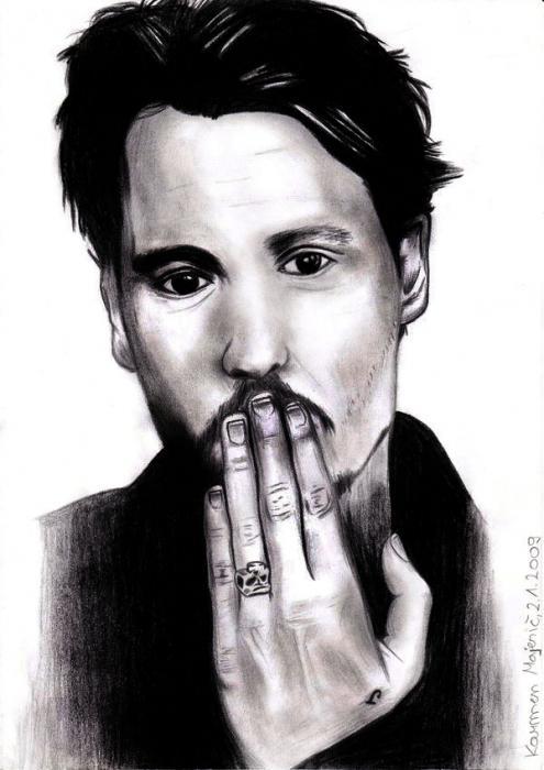Johnny Depp par AllieH